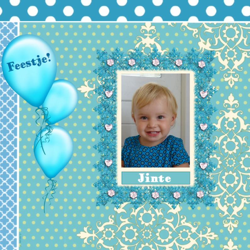 Kinderfeestjes - Feestje ballonnen eigen foto