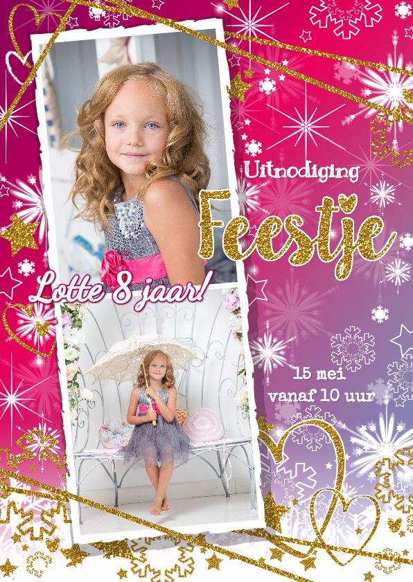 Kinderfeestjes - Feestje glitter en glamour foto