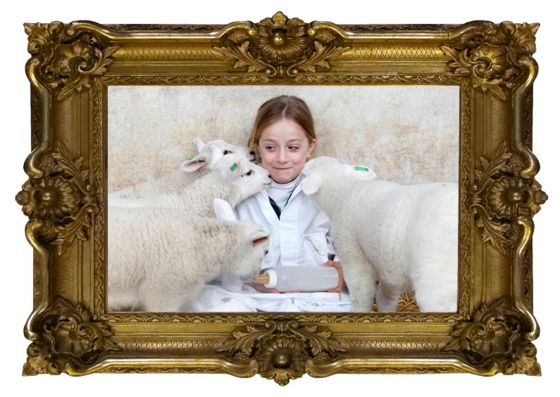 Kinderfeestjes - Fotolijst - Eigen Foto - Goud