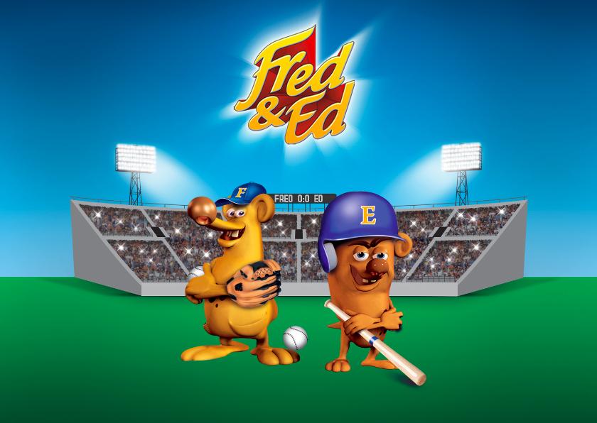 Kinderfeestjes - Fred en Ed honkbalkampioenen