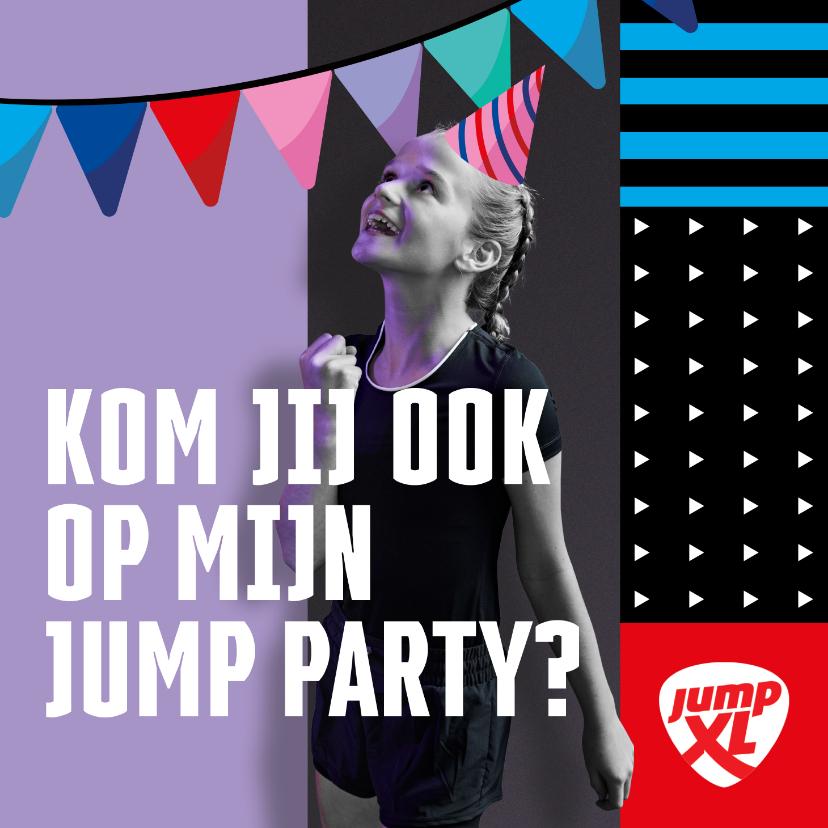 Kinderfeestjes - Jump XL kinderfeest JumpParty Meisje