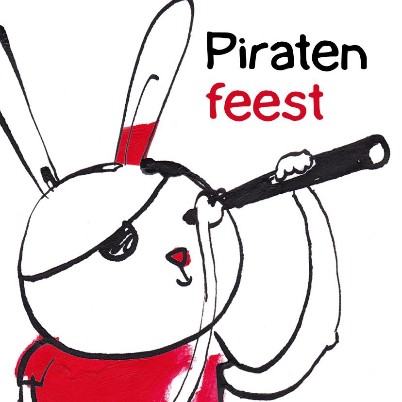 Kinderfeestjes - kinderfeest piraten meisje