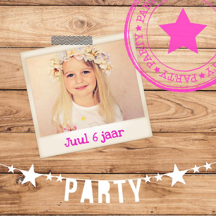 Kinderfeestjes - kinderfeest uitnodiging