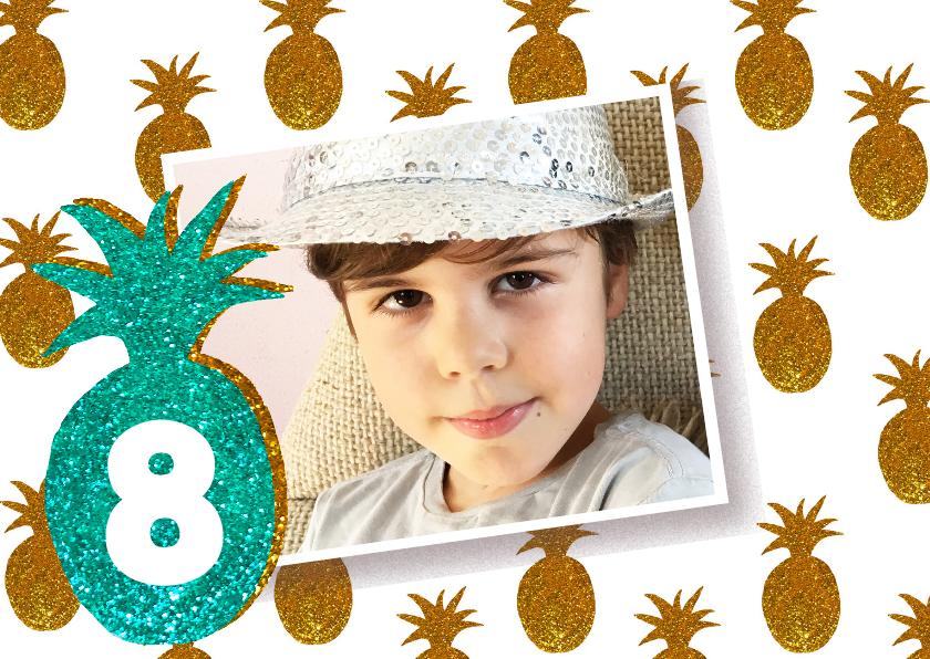 Kinderfeestjes - kinderfeestje ananas foto jongen