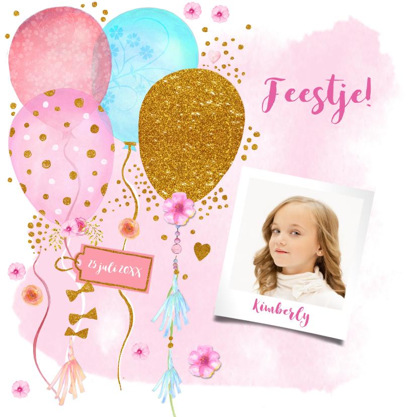 Kinderfeestjes - Kinderfeestje ballonnen foto