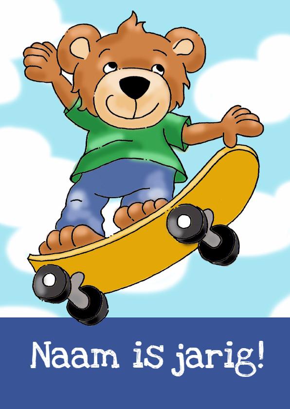 Kinderfeestjes - Kinderfeestje beer skateboard