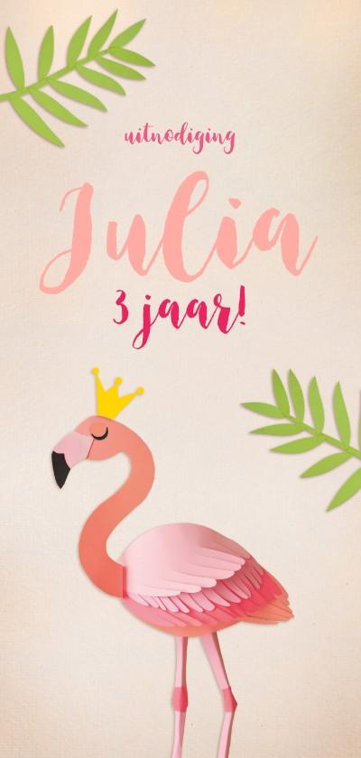 Kinderfeestjes - Kinderfeestje flamingo