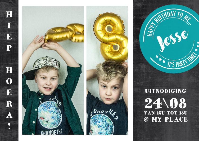Kinderfeestjes - Kinderfeestje foto's schoolbord