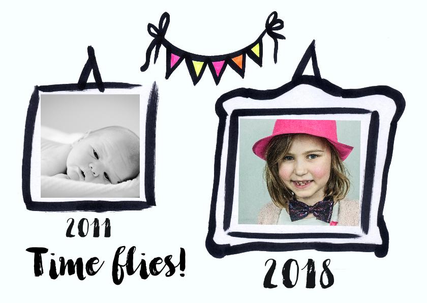 Kinderfeestjes - Kinderfeestje  fotolijstjes jaartallen