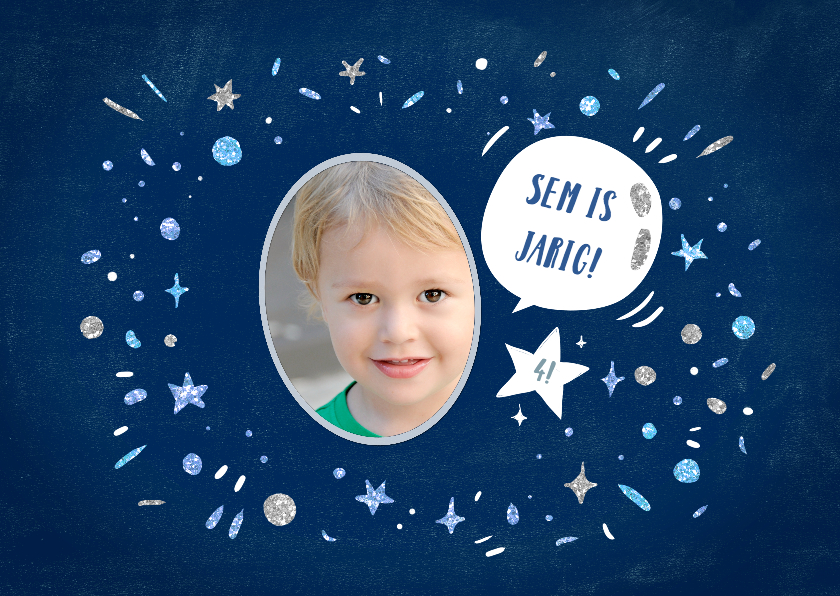 Kinderfeestjes - Kinderfeestje Glitterfestijn jongen