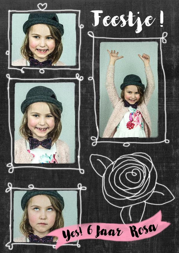 Kinderfeestjes - Kinderfeestje hip meisje foto's roos