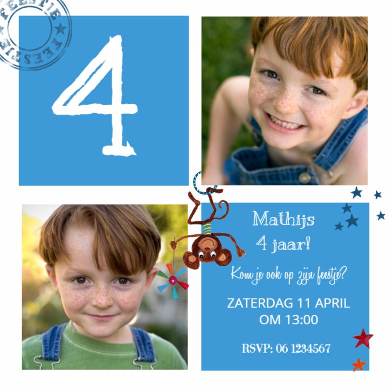 Kinderfeestjes - Kinderfeestje Jongen Blokken