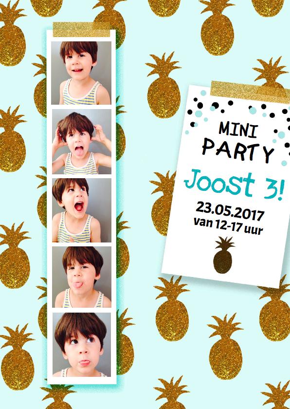 Kinderfeestjes - kinderfeestje jongen pasfoto