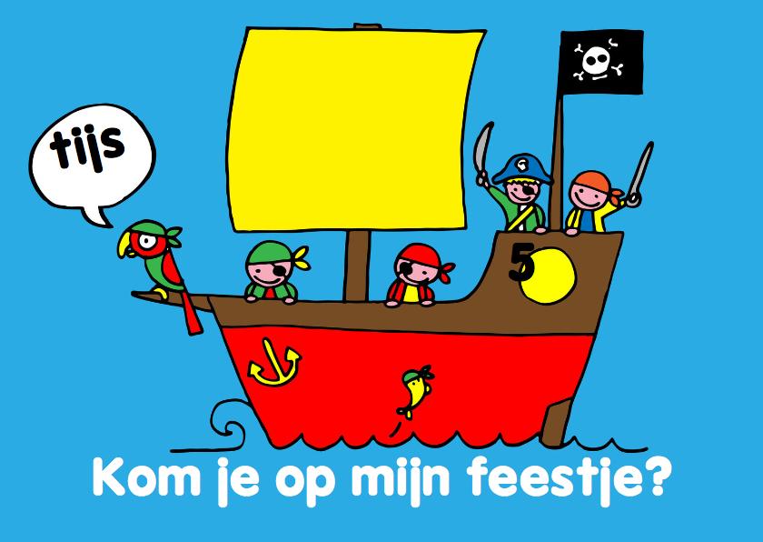 Kinderfeestjes - kinderfeestje jongen piraten foto