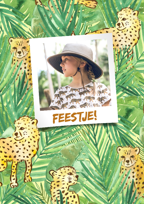 Kinderfeestjes - Kinderfeestje jungle jachtluipaarden