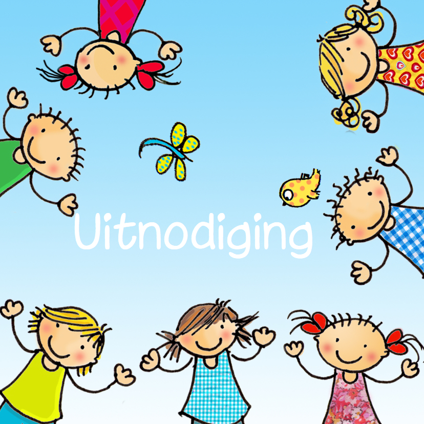Kinderfeestjes - Kinderfeestje kinderen kring av