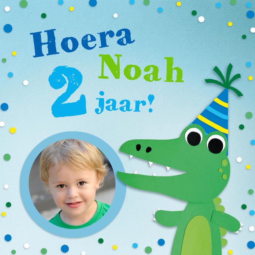 Kinderfeestjes - Kinderfeestje krokodil