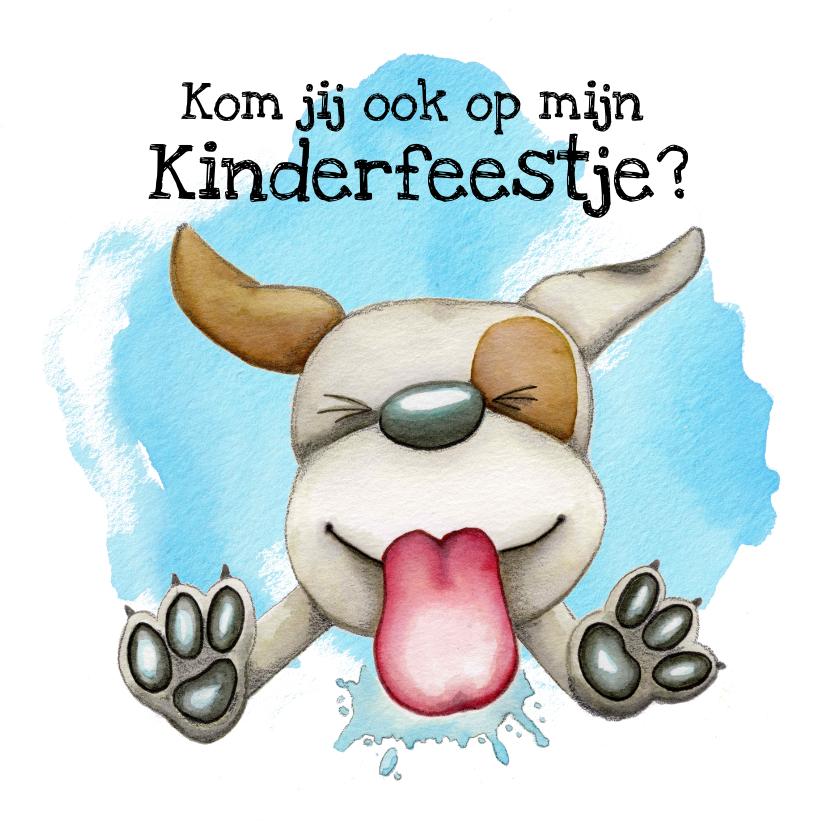 Kinderfeestjes - Kinderfeestje likkende hond