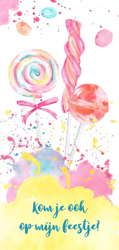 Kinderfeestjes - Kinderfeestje met lolly's en snoepjes