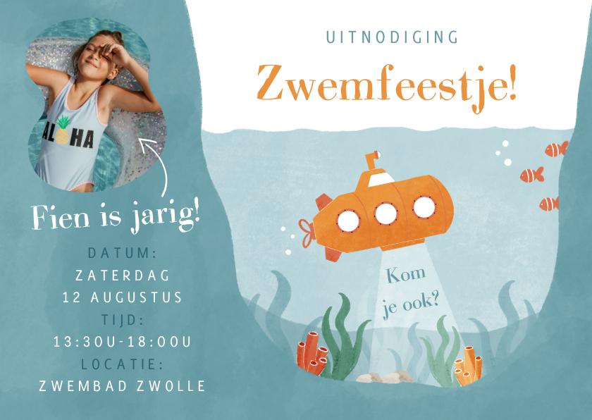 Kinderfeestjes - Kinderfeestje onderwaterwereld