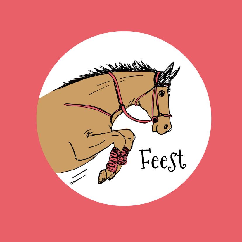 Kinderfeestjes - Kinderfeestje springend paard