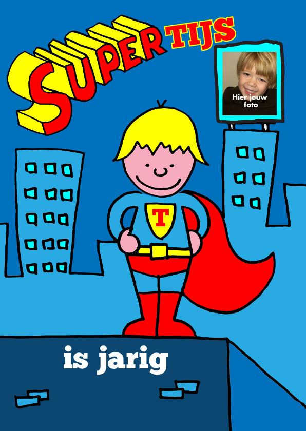 Kinderfeestjes - kinderfeestje superman blond