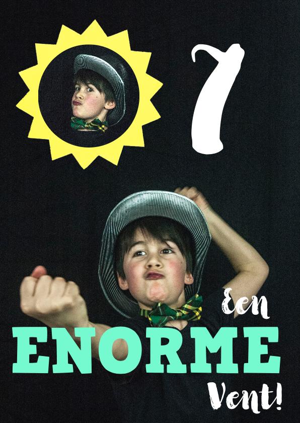 Kinderfeestjes - Kinderfeestje uitnodiging jongen grote foto