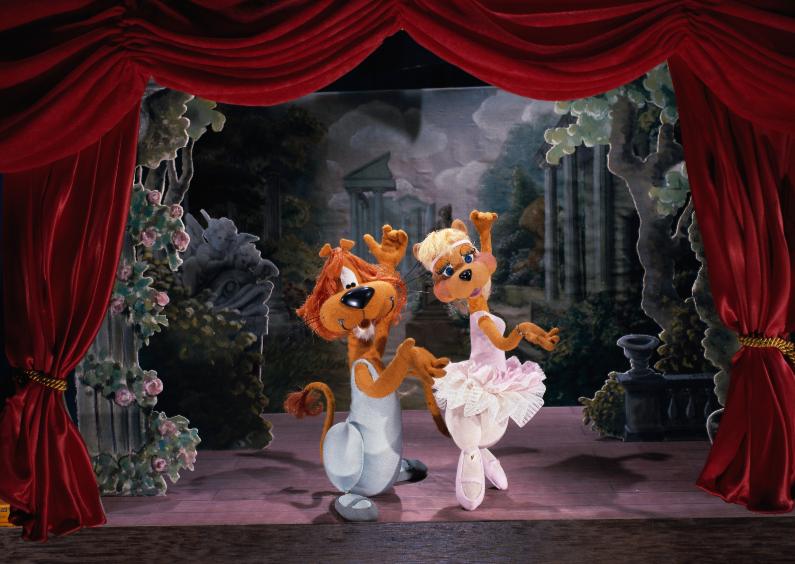 Kinderfeestjes - Loeki  & Roos pas de deux