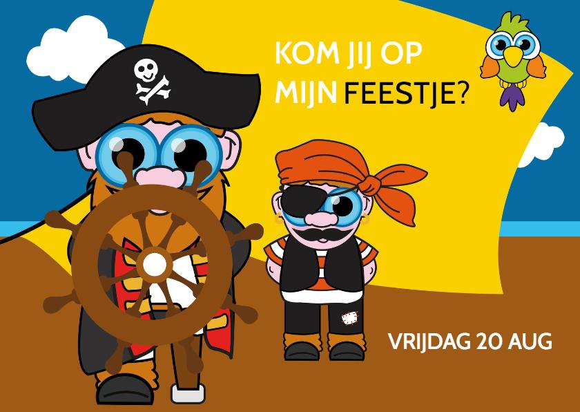 Kinderfeestjes - Piratenfeestje jongen