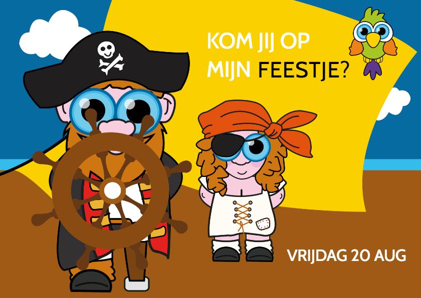 Kinderfeestjes - Piratenfeestje meisje
