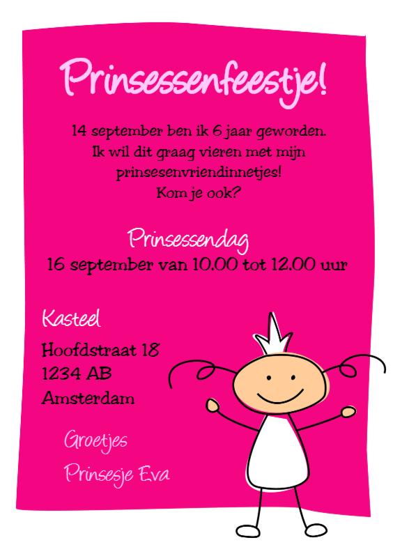 Kinderfeestjes - Prinsessenfeestje 2