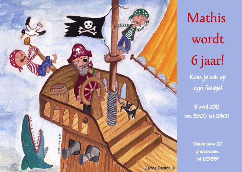 Stoer Piraten Feest Cartita Design 1