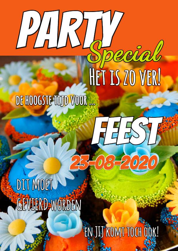 Kinderfeestjes - Uitnodiging cover tijdschrift 2