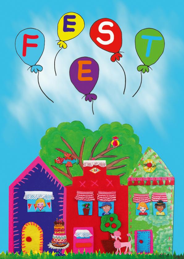Kinderfeestjes - Uitnodiging Feest PA
