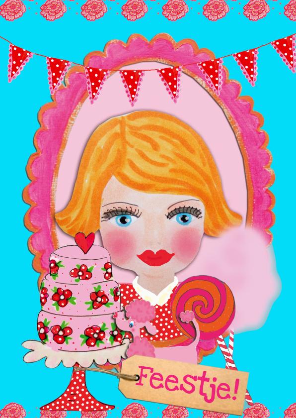 Kinderfeestjes - Uitnodiging Feestje PA