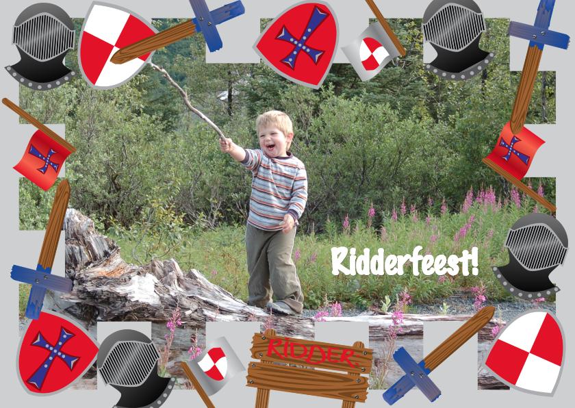 Uitnodiging Kinderfeest Ridderfeest 1