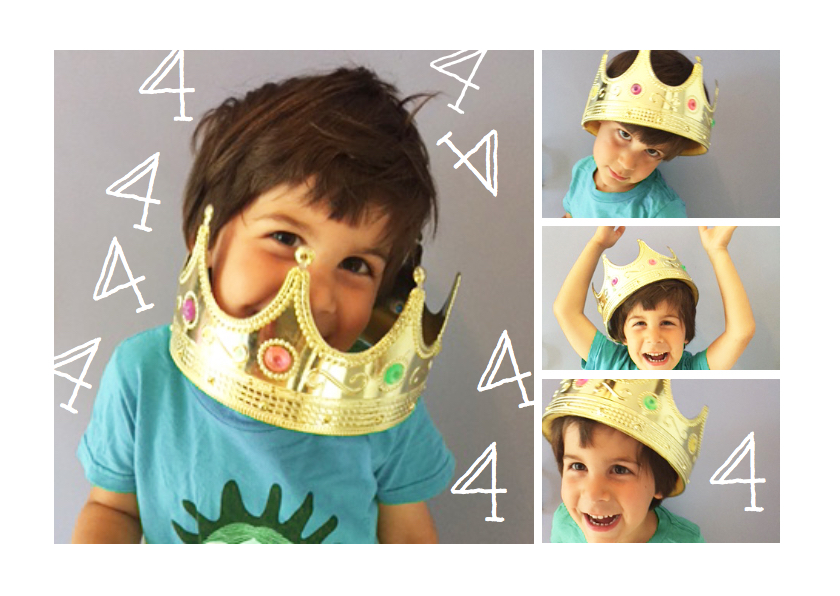 Kinderfeestjes - Uitnodiging kinderfeestje hip