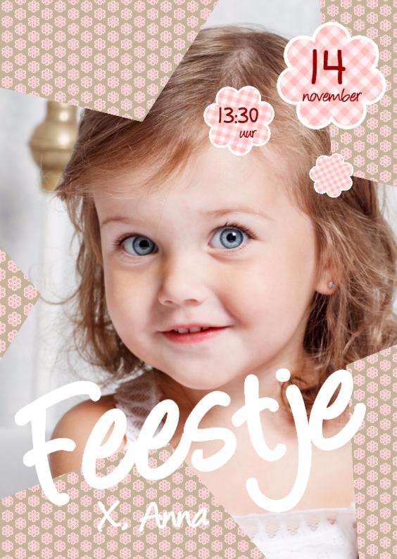 Kinderfeestjes - Uitnodiging Ster Meisje
