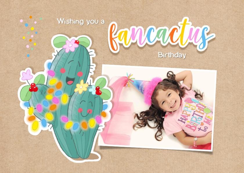 Kinderfeestjes - verjaardag fancactus kind