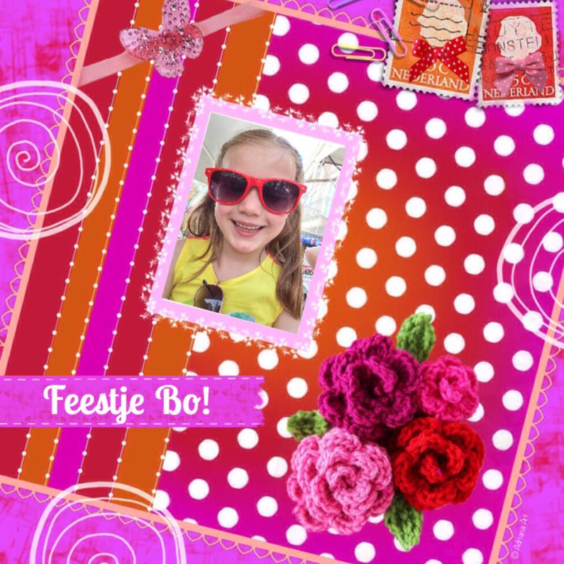 Kinderfeestjes - Verjaardag feestje meisje pink