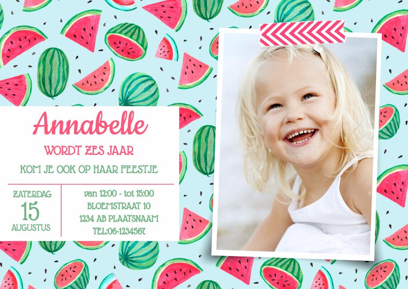 Kinderfeestjes - Verjaardagfeestje watermeloen