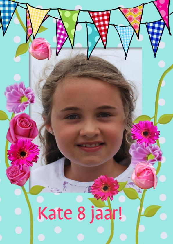 Kinderfeestjes - Vlaggetjes en bloemen1
