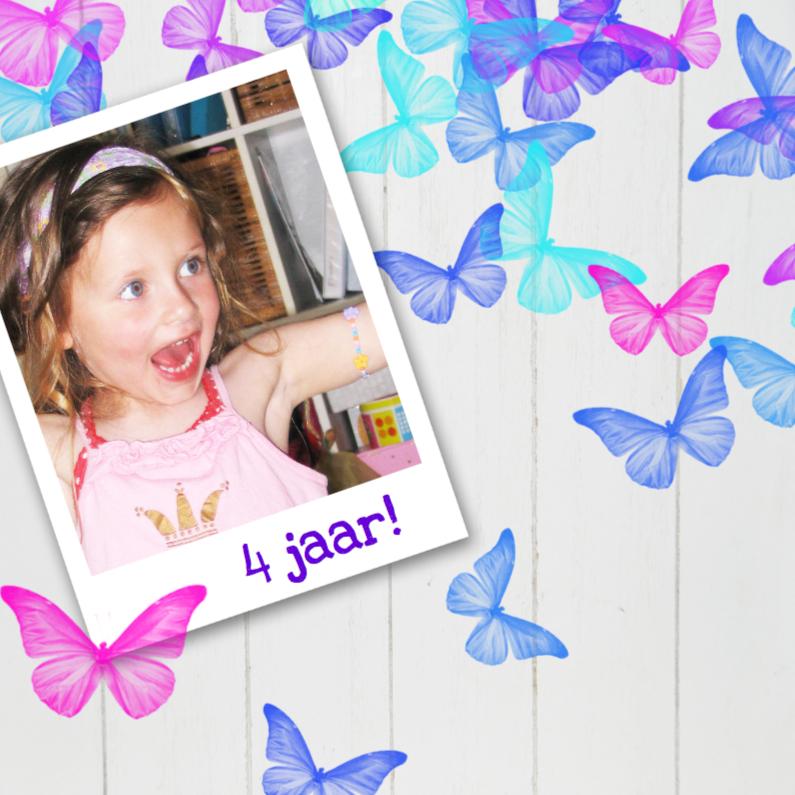 Kinderfeestjes - Vrolijke uitnodiging kinderfeest