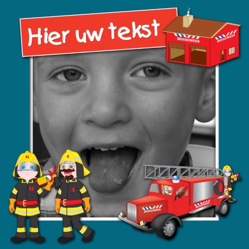 Kinderfeestjes - YVON brandweer 1 kader eigen foto