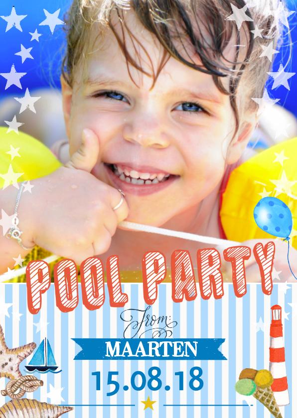 Kinderfeestjes - Zwembadfeestje Jongen