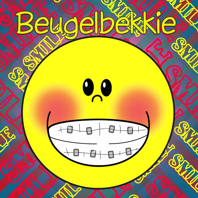 Kinderkaarten - Beugel bekkie SMILE