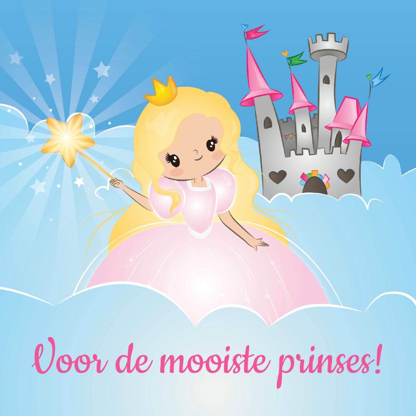 Kinderkaarten - De Mooiste Prinses!