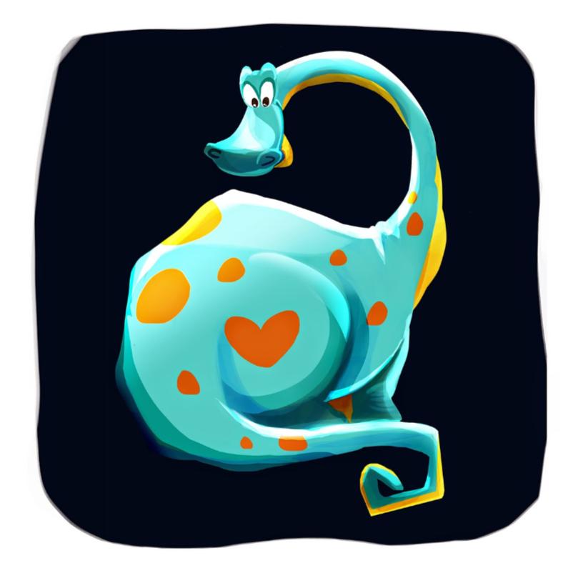 Kinderkaarten - Dino Doodle