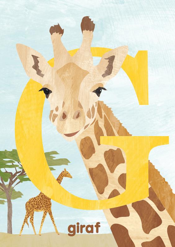 Kinderkaarten - G van giraf
