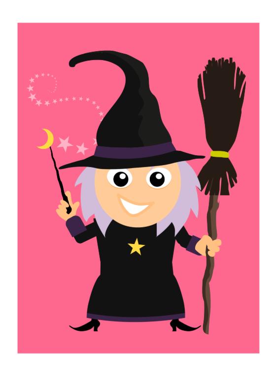 Kinderkaarten - Heksje Sprookjes Kaart